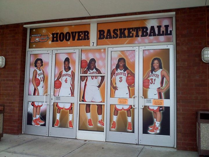 Hoover High School Gym Doors